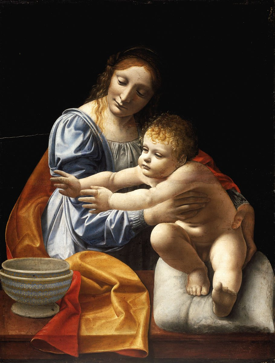 Giovanni Antonio Boltraffio: Mária gyermekével