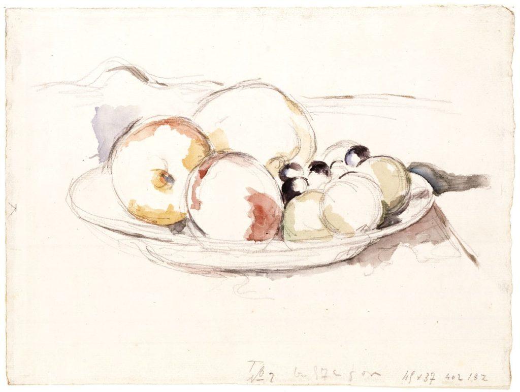P.Cezanne: Gyümölcscsendélet