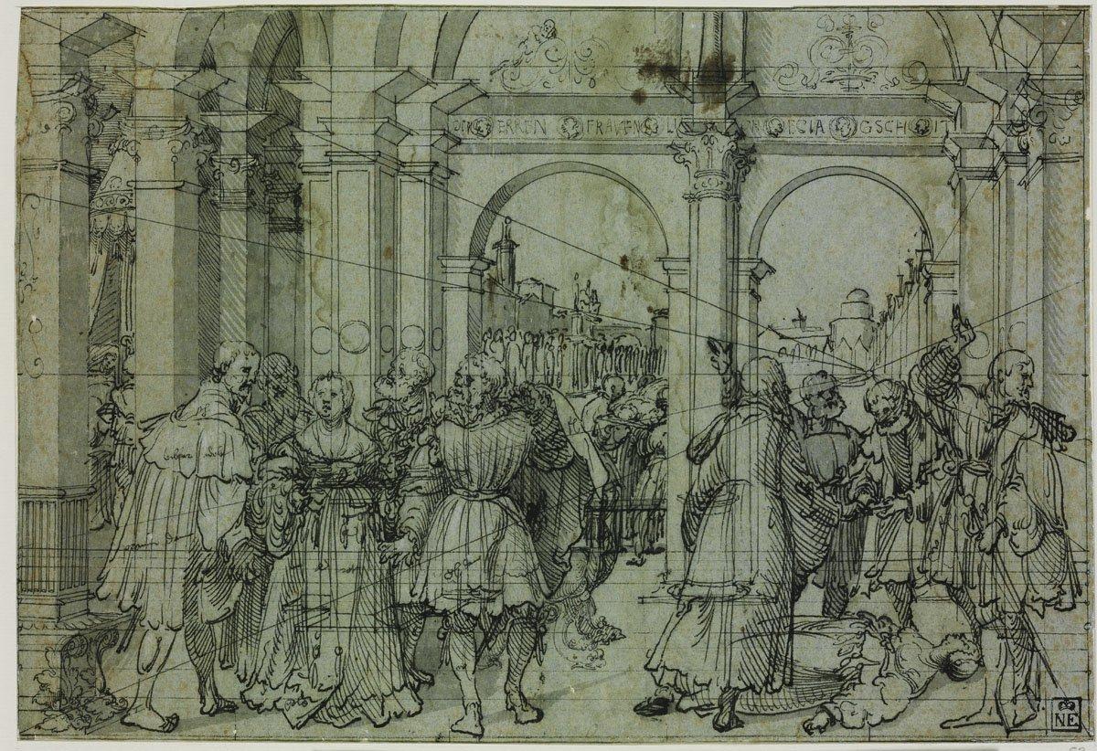 Id. Jörg Breu: Lucretia története, 1528 körül