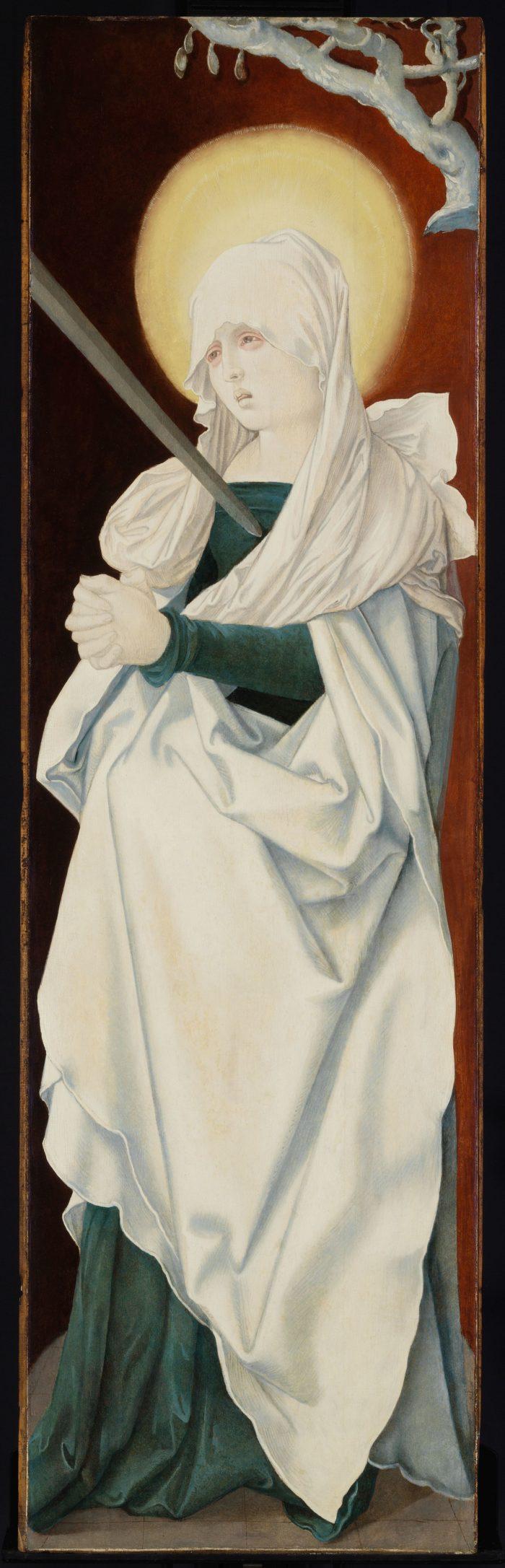 Hans Baldung Grien: Fájdalmas Szűzanya, (Mater Dolorosa)