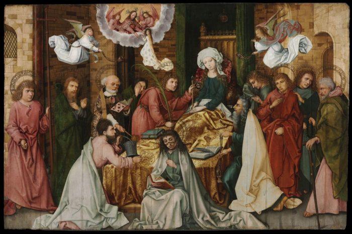 id. Hans Holbein: Mária halála
