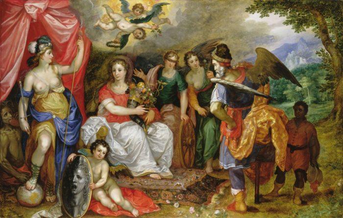 id. Jan Brueghel: A Jólét allegóriája
