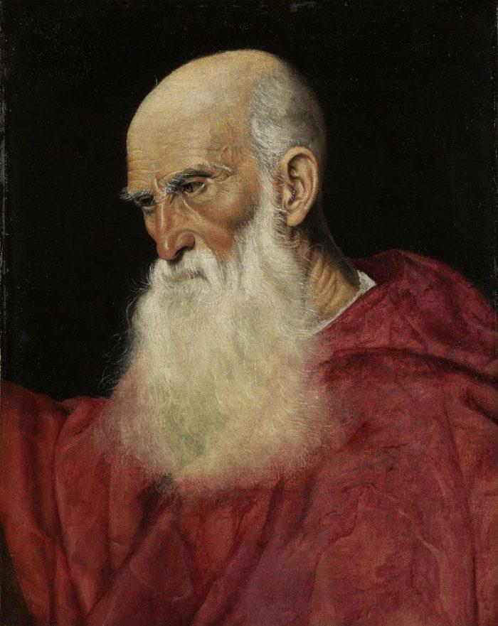 Jacopo Bassanonak tulajdonítva: Bíboros képmása (Pietro Bembo?)