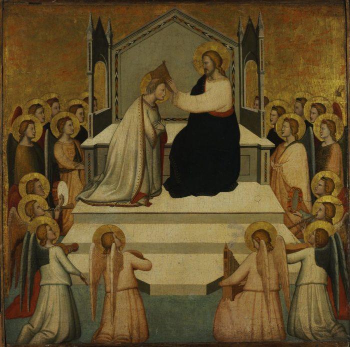 Maso di Banco: Mária megkoronázása