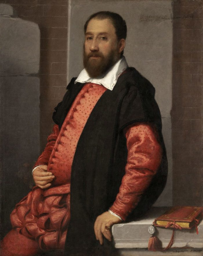 Giovanni Battista Moroni: Jacopo Foscarini (?) képmása