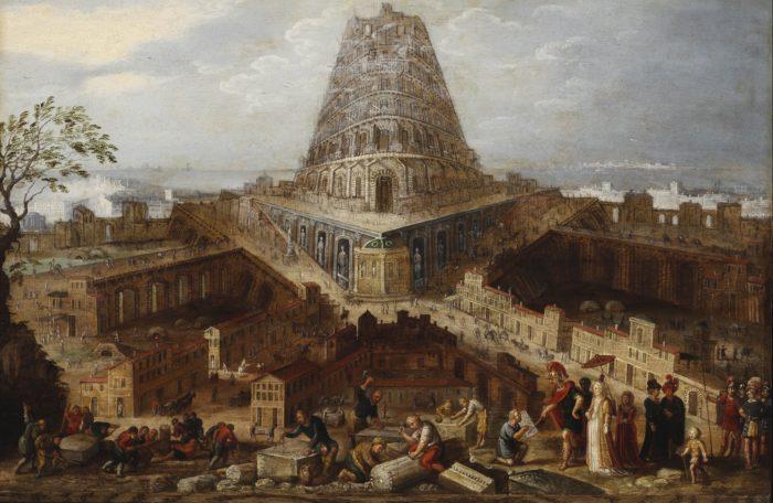 Flamand festő: Bábel tornya
