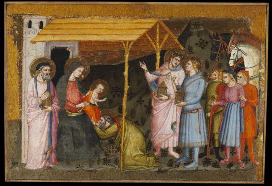 Az Ashmolean-predella Mestere: Királyok imádása