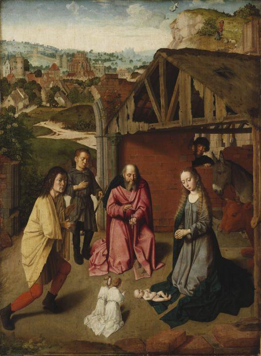 Gerard David: A pásztorok imádása
