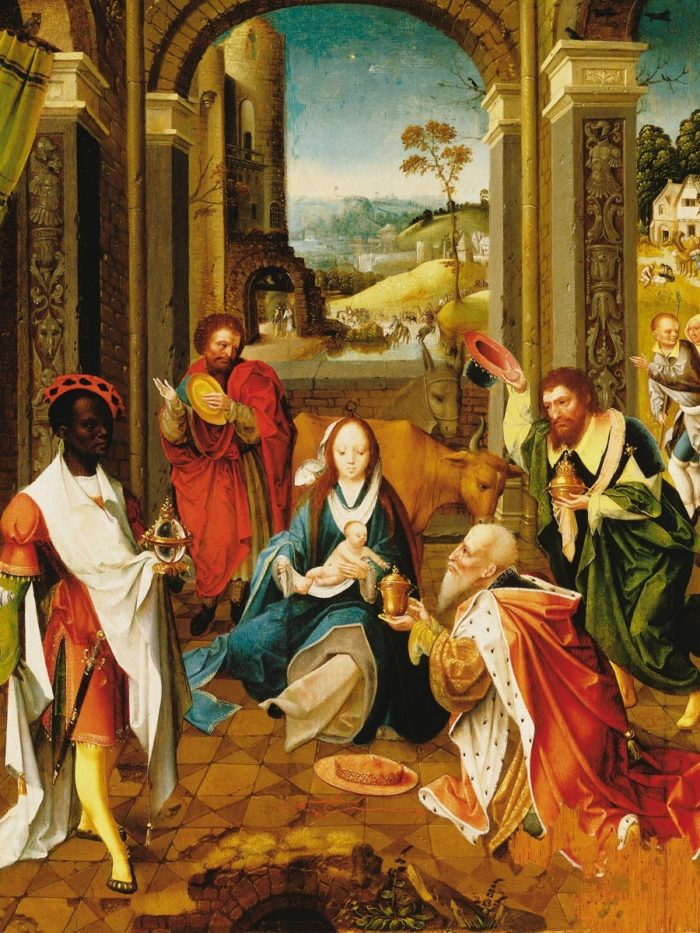 A Groote Adoratio Mestere: Királyok imádása