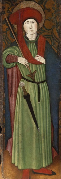 A Villalobos mester: Szent Sebestyén