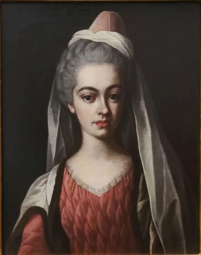 Pálffy Franciska portréja