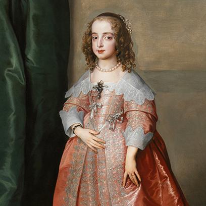 Stuart Mária Henrietta hercegnő esküvői portréja