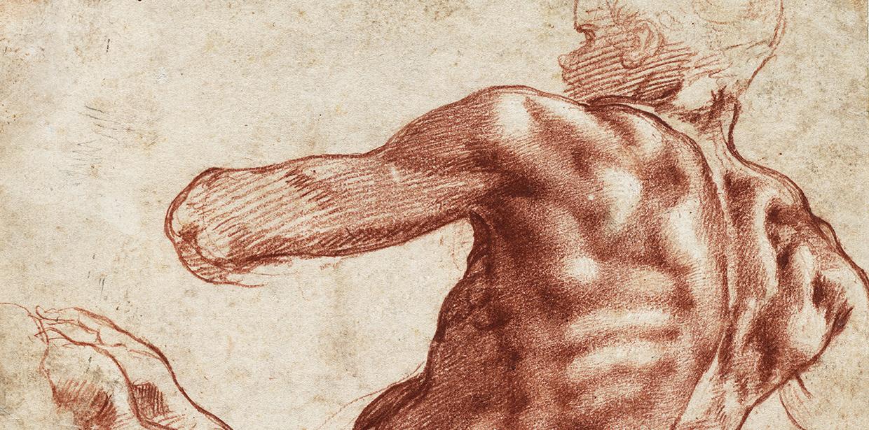 """Képtalálat a következőre: """"A test diadala. Michelangelo és a 16. századi itáliai rajzművészet"""""""