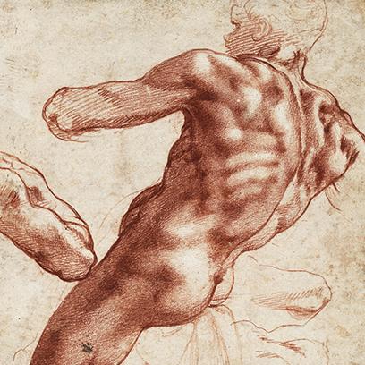A test diadala. Michelangelo és a 16. századi rajzművészet