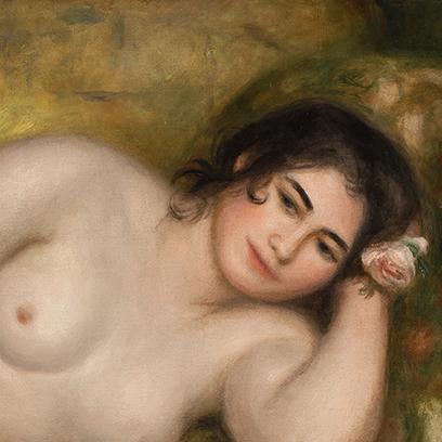 Renoir: Fekvő női akt