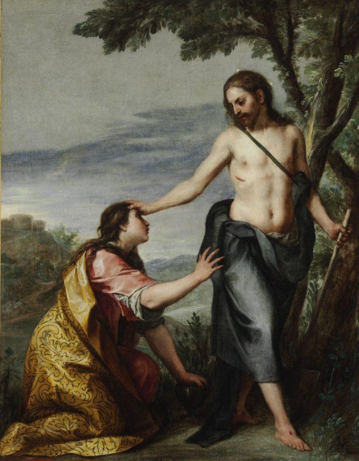 Alonso Cano: Krisztus megjelenik Magdolnának (Noli me tangere), 1640 után