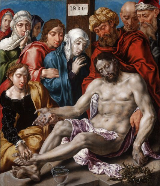 Marteen van Heemskerck: Krisztus siratása, 1538–1542