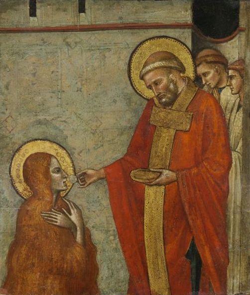 Luca di Tommé: Szent Magdolna áldozása, 14. század második fele