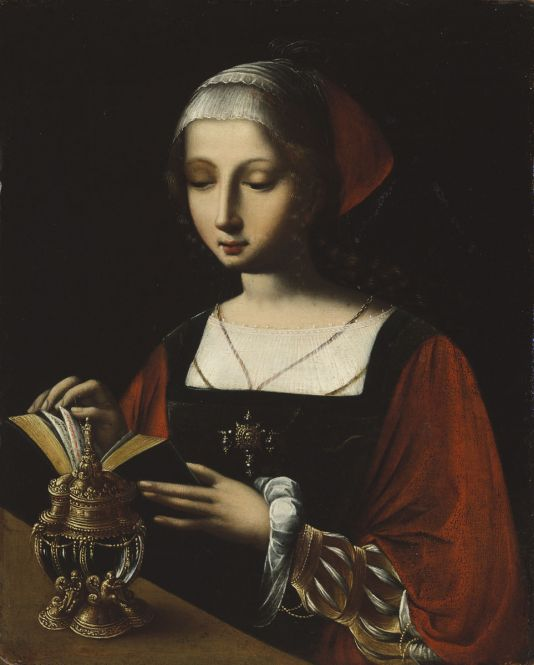 A Női Félalakok Mestere: Az olvasó Mária Magdolna, 1510-es évek