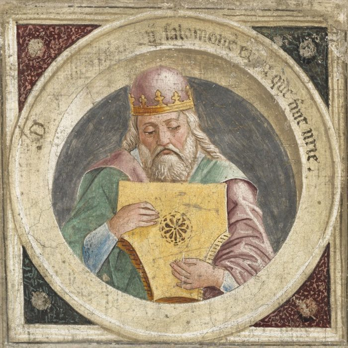 Lombard festő: Dávid király