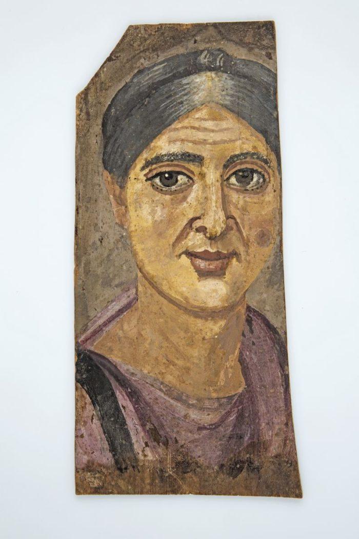 Festett portrék Egyiptomból