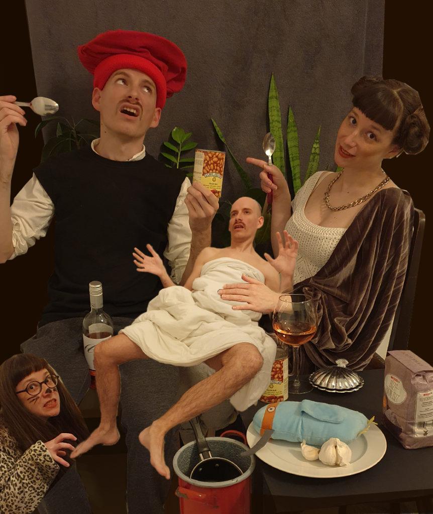 Peasant Family at Repast