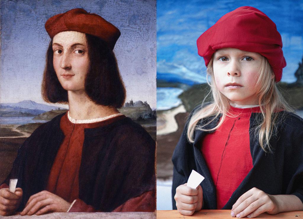 KEDVENC Lovasz Laszlo 2 - eredetije Raffaello Sanzio • A fiatal I. Ippolito d_Este bíboros képmása