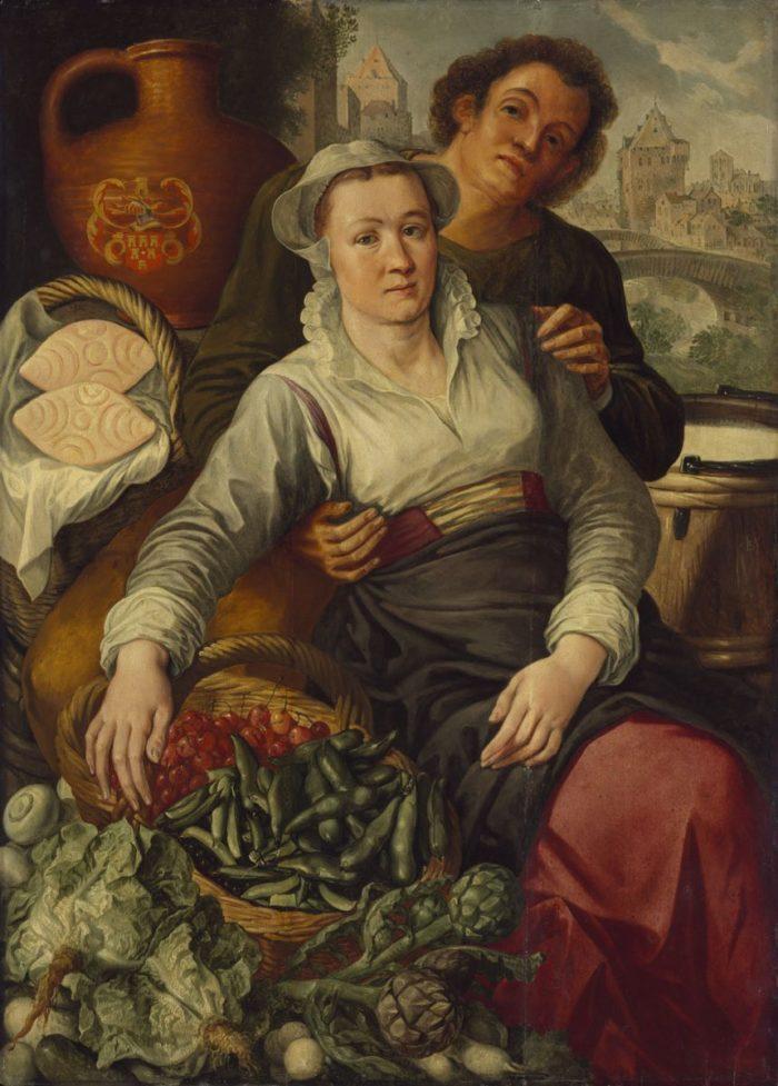 Joachim Beuckelaer: Piaci jelenet, 1570–1574 körül