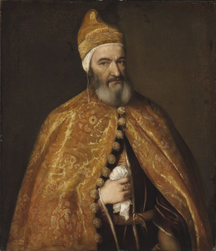 Tiziano Vecellio: Marcantonio Trevisan dózse képmása, 1553–1554 körül