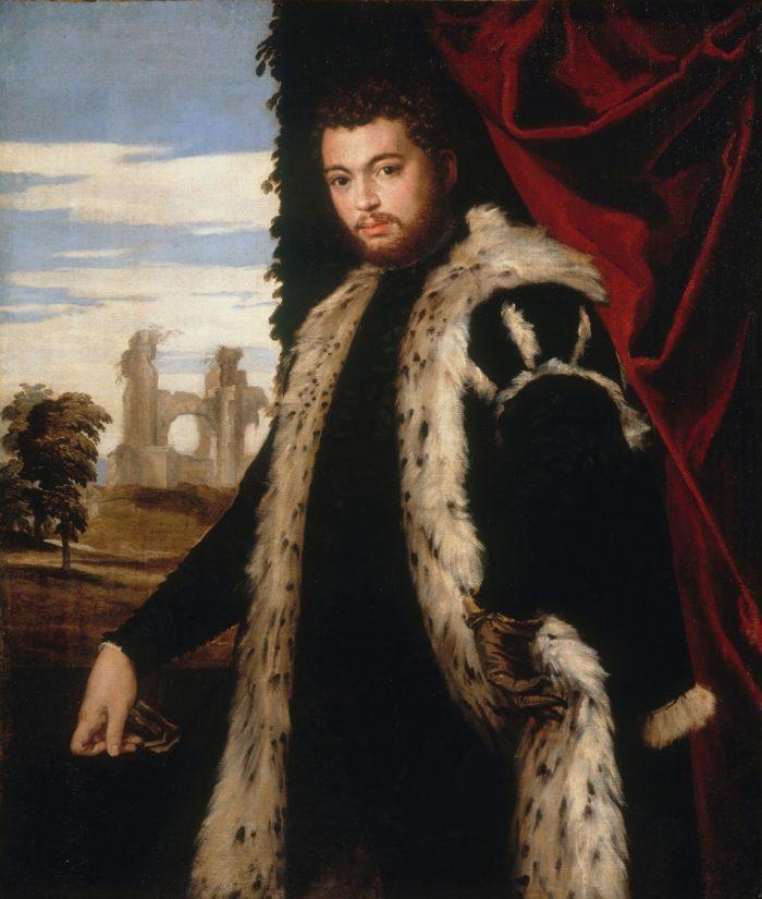 Paolo Veronese: Férfiképmás, 1555 körül