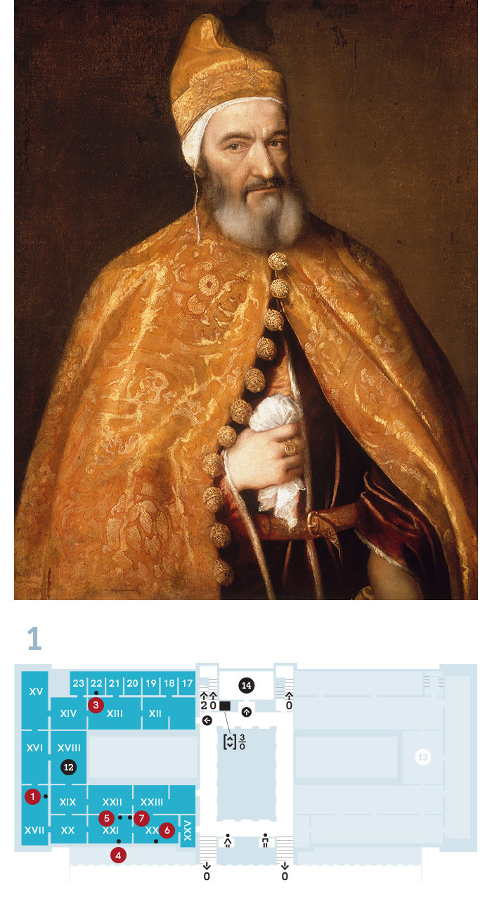 Tiziano és az érett itáliai festészet fényei