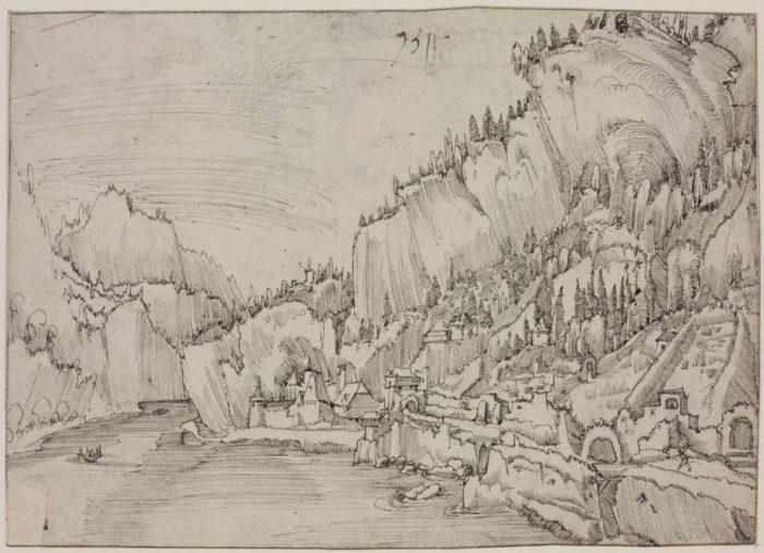 Albrecht Altdorfer: Sarmingstein látképe, 1511
