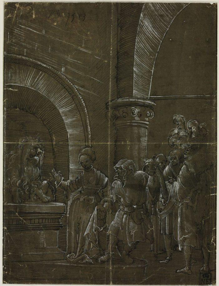 Albrecht Altdorfer után: Az igazság szája, 1513