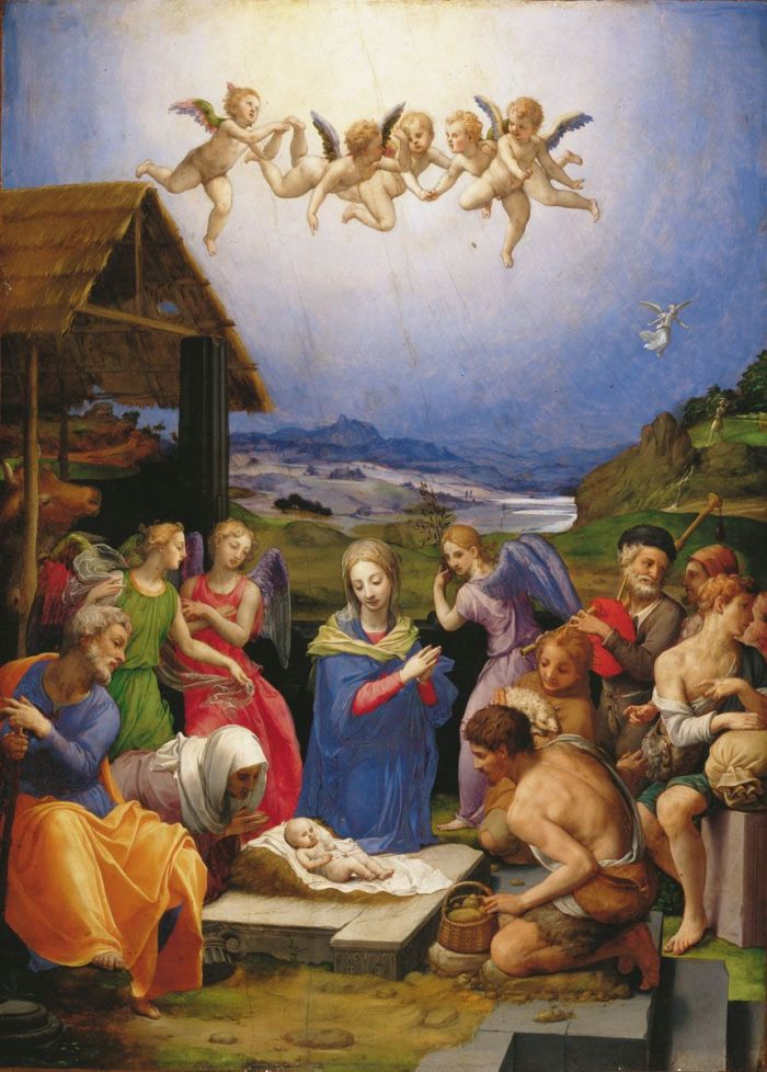 Agnolo Bronzino: Pásztorok imádása, 1539–1540