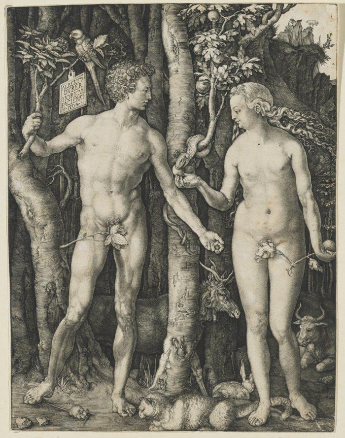 Albrecht Dürer: Ádám és Éva, 1504