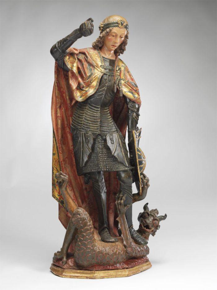 Gil de Siloé: Szent Mihály